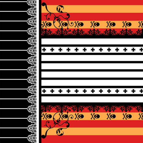 Pirates fabric by jadegordon on Spoonflower - custom fabric