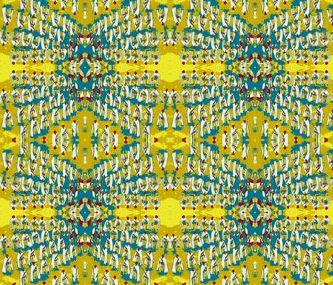 Bastille Day Bon Bon fabric by susaninparis on Spoonflower - custom fabric