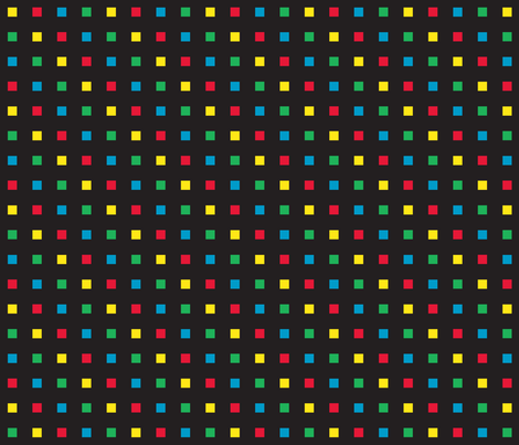 Gamer Dot 4 fabric by modgeek on Spoonflower - custom fabric