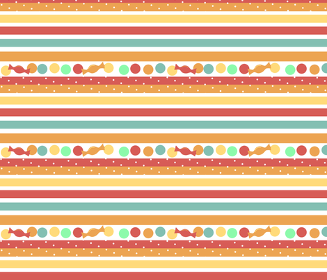 candystriped fabric by mrshervi on Spoonflower - custom fabric