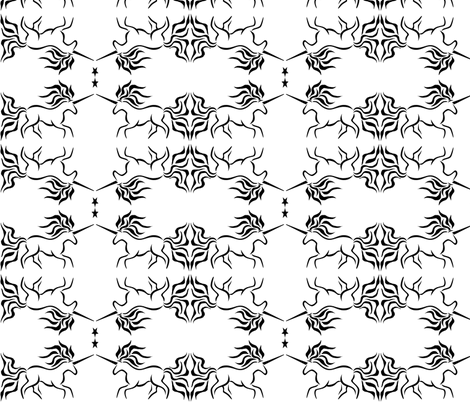 Unicorn fabric by hlacerte on Spoonflower - custom fabric