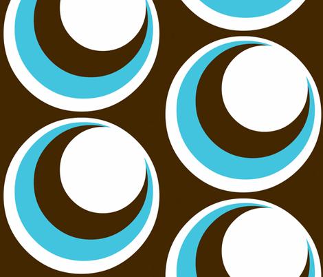 Urban loft / circles fabric by paragonstudios on Spoonflower - custom fabric