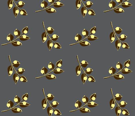 Urban steel /  flo fabric by paragonstudios on Spoonflower - custom fabric