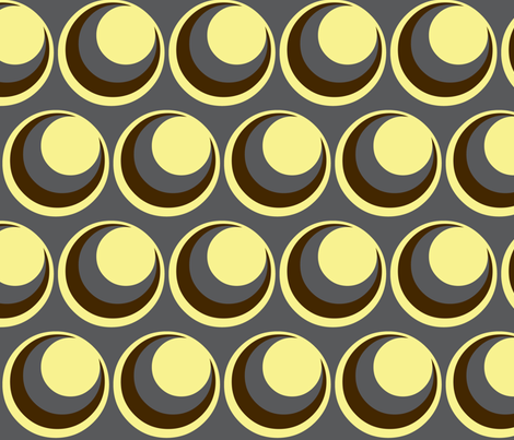 Urban steel / circles fabric by paragonstudios on Spoonflower - custom fabric