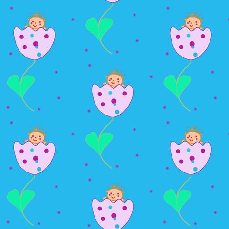 Thumbelina fabric by tgsn on Spoonflower - custom fabric