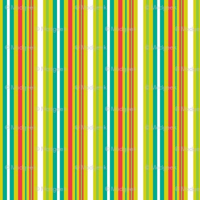 Pop Bot Stripe Yellow