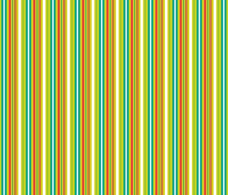 Pop Bot Stripe Yellow fabric by modgeek on Spoonflower - custom fabric