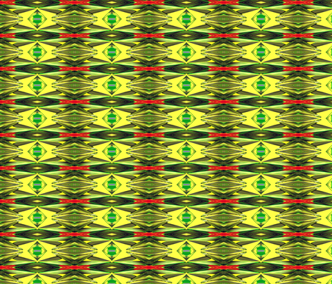 Psychedelic Palm Fronds fabric by robin_rice on Spoonflower - custom fabric