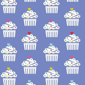 Cupcakes Frilly Larger