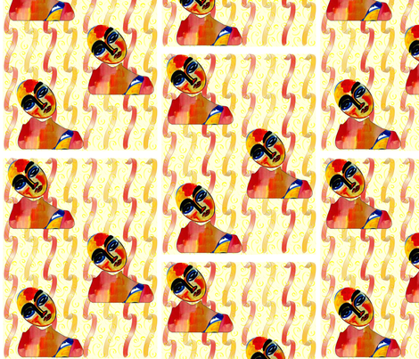 yellowribbontale fabric by gr8chefmb on Spoonflower - custom fabric