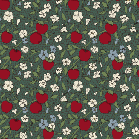 Poison Apple (Small) fabric by shirayukin on Spoonflower - custom fabric