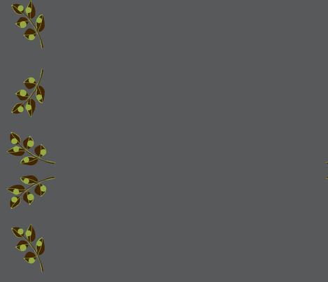 Urban green / border fabric by paragonstudios on Spoonflower - custom fabric