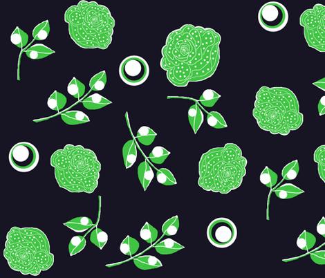 Urban pier / bloom fabric by paragonstudios on Spoonflower - custom fabric