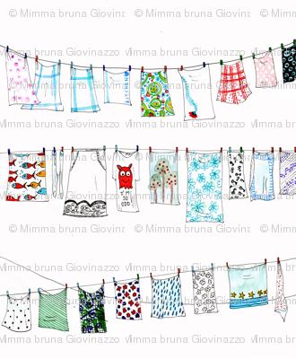 metafabric for laundry drawstring bag