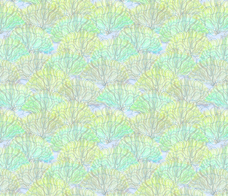 © 2011 seafans - seafoam fabric by glimmericks on Spoonflower - custom fabric
