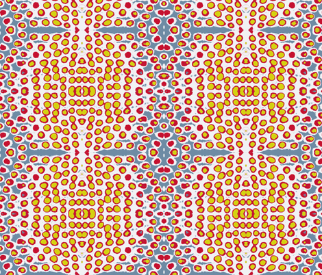 Punjabi Pulse fabric by susaninparis on Spoonflower - custom fabric
