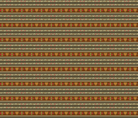 Hansel and Gretel stripe fabric by cjldesigns on Spoonflower - custom fabric