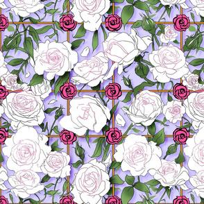 Utena Roses Lavender Large
