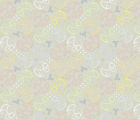 ©2011 Bird Motif fabric by glimmericks on Spoonflower - custom fabric