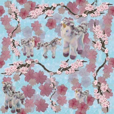 Unicorns in sakuraland