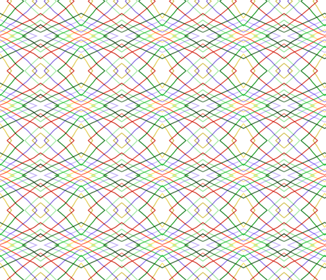 Wayward stripes 1 fabric by su_g on Spoonflower - custom fabric