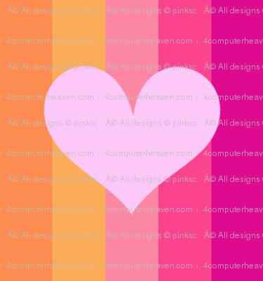 Popbi! - Sugarbaby - Striped Big Hearts - © PinkSodaPop 4ComputerHeaven.com