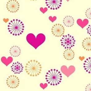 Popbi! - Sugarbaby - Retro Flowers & Hearts - © PinkSodaPop 4ComputerHeaven.com