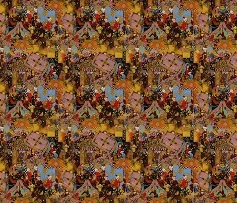 news_of_layla_majnu_s_love_affair_spreads fabric by rosario on Spoonflower - custom fabric