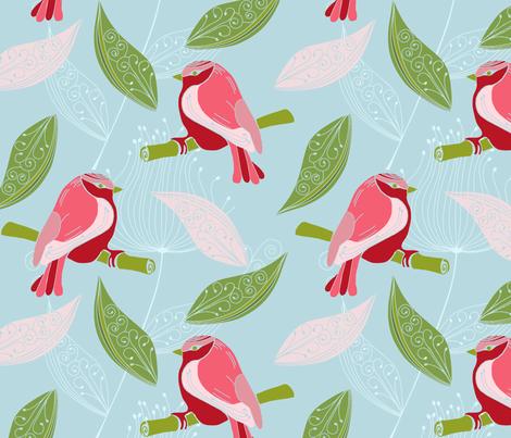 TheSingingSpringingLarkR fabric by loolu on Spoonflower - custom fabric
