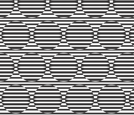 Linear Confusion - horizontal fabric by majobv on Spoonflower - custom fabric