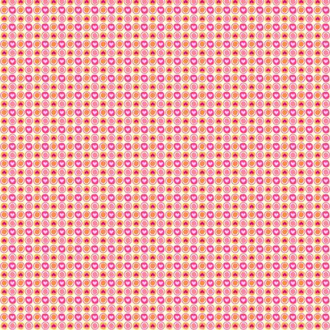 Popbi! - Sugarbaby - Teeny TINY Heart Dots & Circlets  - © PinkSodaPop 4ComputerHeaven.com fabric by pinksodapop on Spoonflower - custom fabric