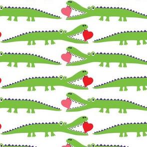 Alligator Love green - large