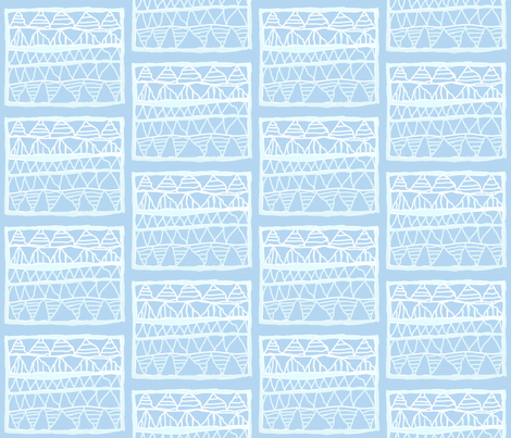 Pale blue registers by Su_G fabric by su_g on Spoonflower - custom fabric