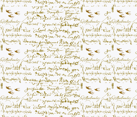 Anita's Inspiration small print fabric by karenharveycox on Spoonflower - custom fabric