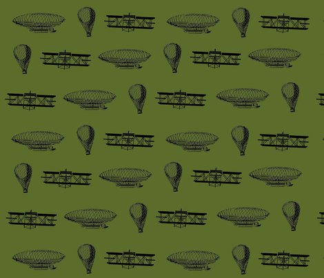 air_travel fabric by chibibutterfly on Spoonflower - custom fabric