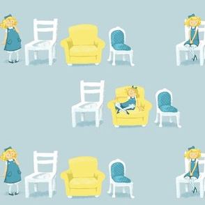 Goldilocks and the bears' chairs
