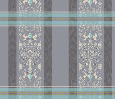 SHERWOOD FOREST  fabric by trcreative on Spoonflower - custom fabric