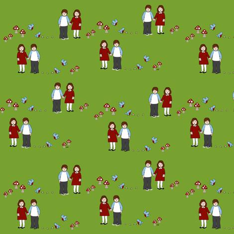 Hansel and Gretel fabric by mayabella on Spoonflower - custom fabric