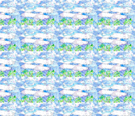 Cloudy Day fabric by countrygarden on Spoonflower - custom fabric