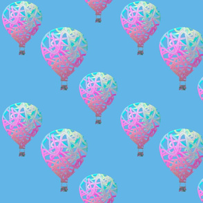Sky balloons, large by Su_G