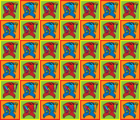 MonsterGuard2 fabric by ghennah on Spoonflower - custom fabric