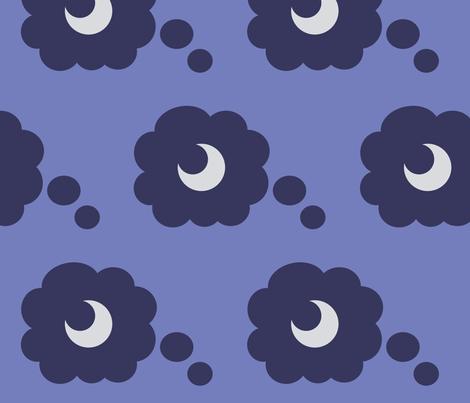 Princess Luna fabric by fabric_brony on Spoonflower - custom fabric
