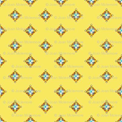 Deco Diamonds yellow