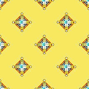 Deco Diamonds yellow