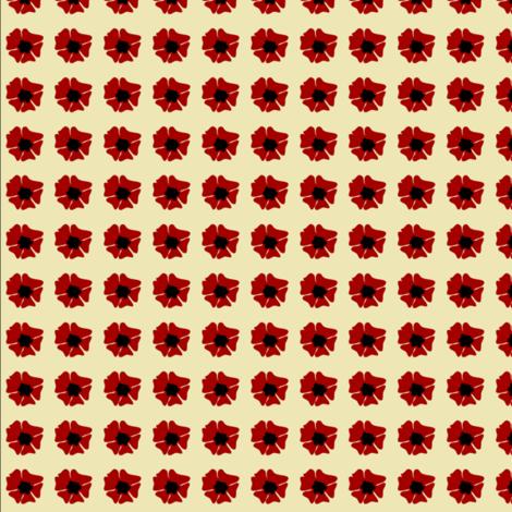 hibiscus fabric by krihem on Spoonflower - custom fabric