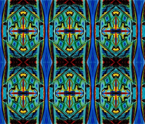 FinchAtWindow fabric by kingcarl on Spoonflower - custom fabric