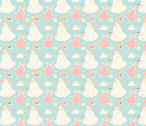 Baby Doll Dresses fabric by eppiepeppercorn on Spoonflower - custom fabric