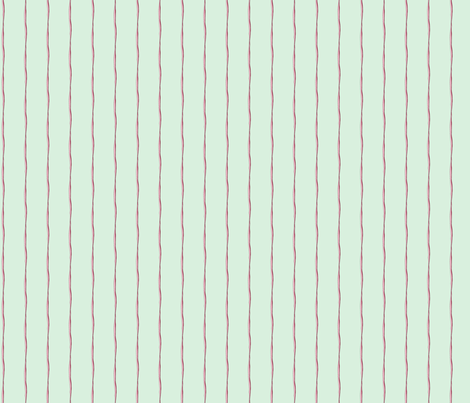 uberstripe_mintypink fabric by tractorgirl on Spoonflower - custom fabric