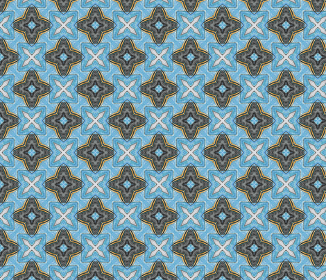 Lady Pirate's Check fabric by siya on Spoonflower - custom fabric