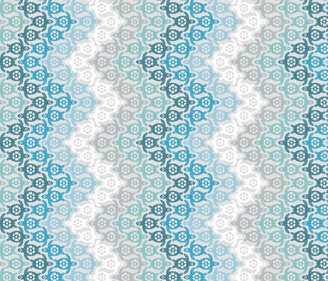 Turtles on the Beach fabric by coloroncloth on Spoonflower - custom fabric